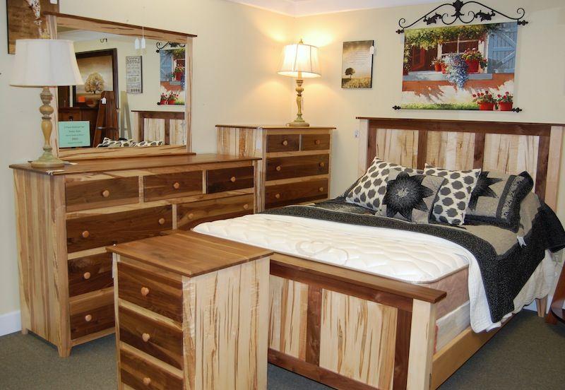 Wormy Maple Bedroom Set | Dutch Haus Custom Furniture ...