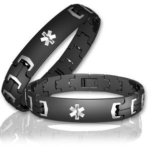 Anium Le Men S Medical Id Bracelet