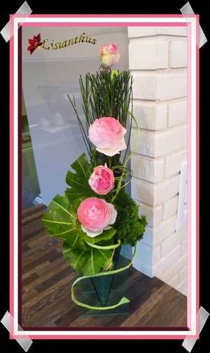 Blog De Lisianthus Composition Florale
