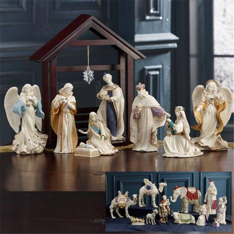 Lenox First Blessing Complete 22 Pc Nativity Set New Boxed Nativity Set Nativity Christmas Nativity Scene