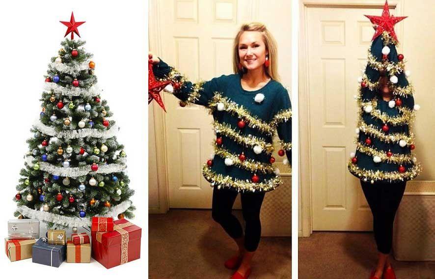 Best christmas tree costume ideas simple