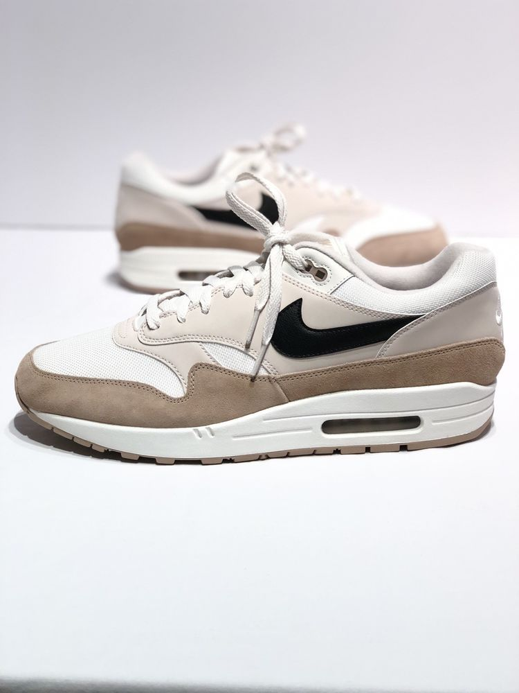 ef32e304e72e31 NIKE AIR MAX 1 SAND BLACK DESERT SAND SAIL RUNNING MEN SIZE 13 ...