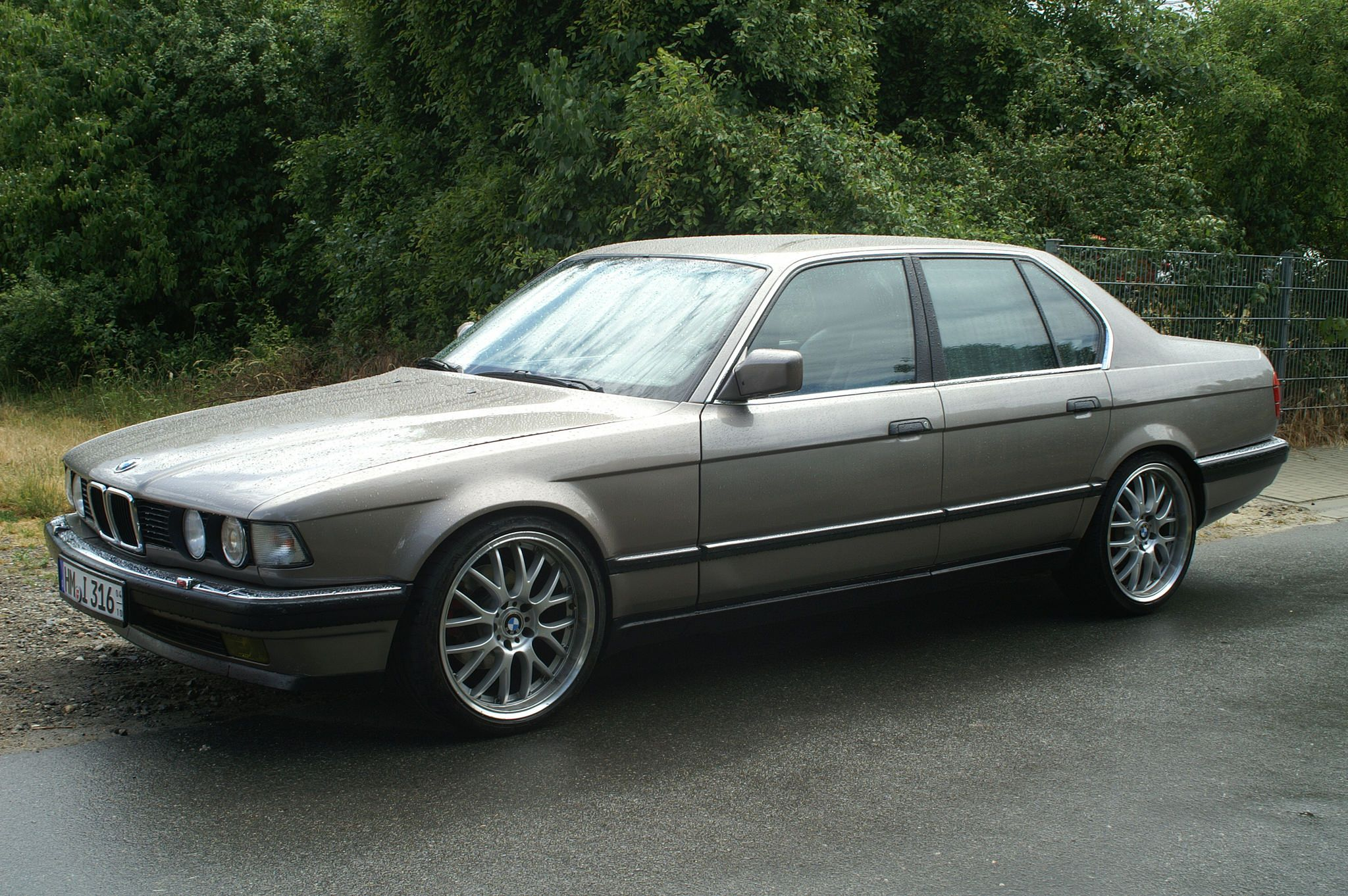 Bmw e32 7 series silver alpina wheels bmw ultimate driving machine pinterest bmw wheels and cars