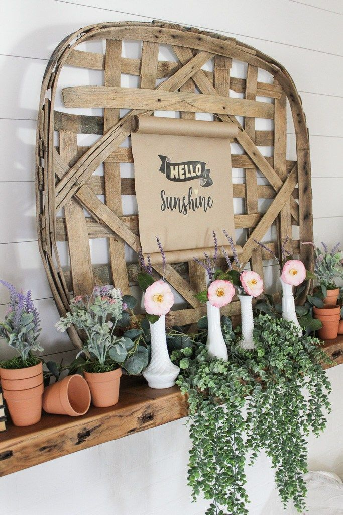 how to style a farmhouse easter mantel foyer decorating on favorite diy fall decorating ideas add life to your home id=79013