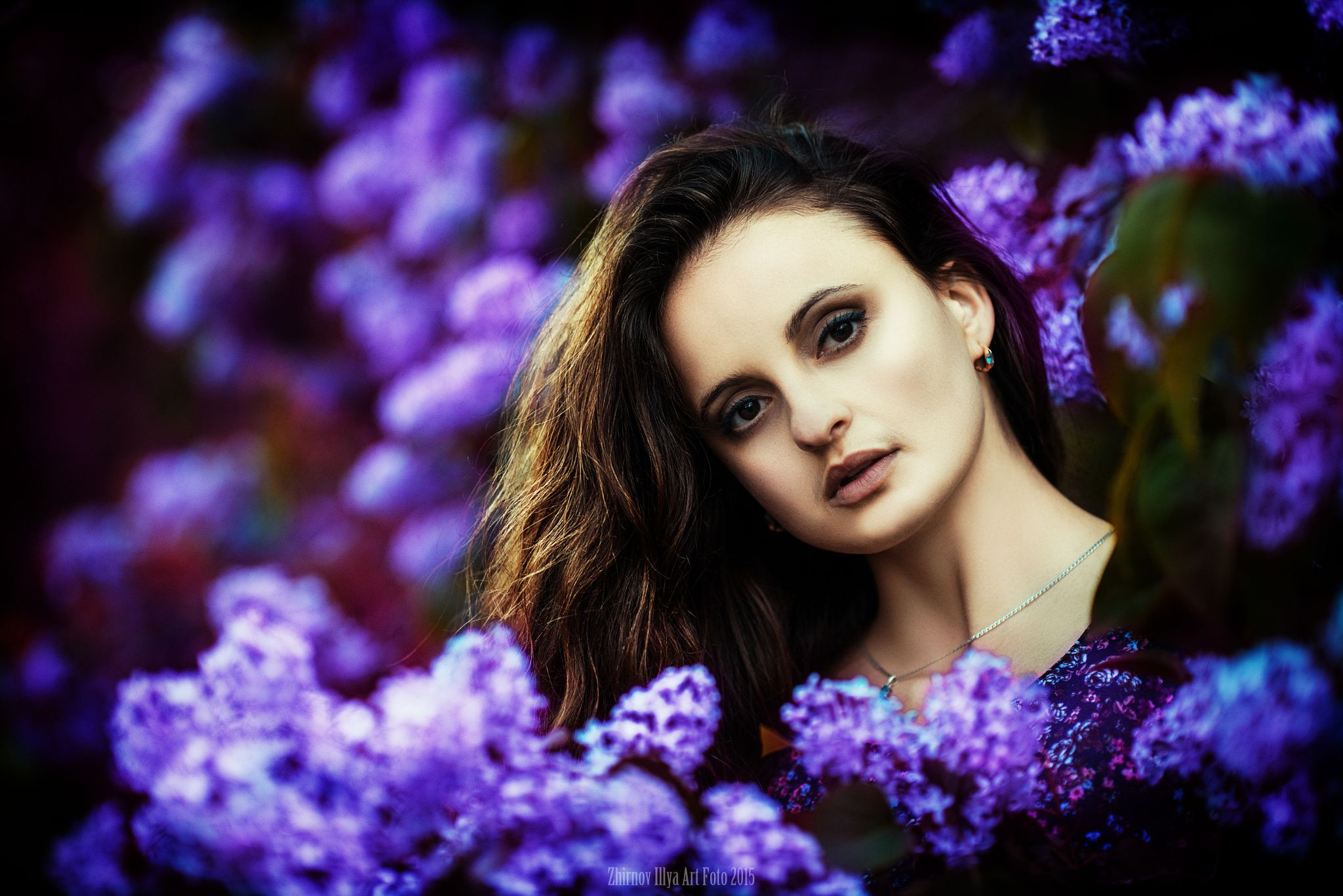 Anastasia blue by Илья  Жирнов on 500px