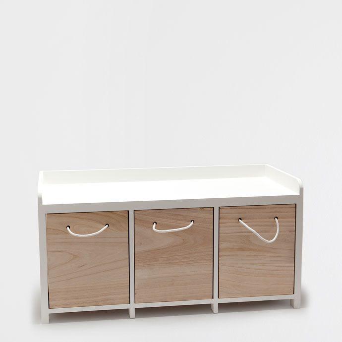bankje met lades jxq02 agneswamu. Black Bedroom Furniture Sets. Home Design Ideas