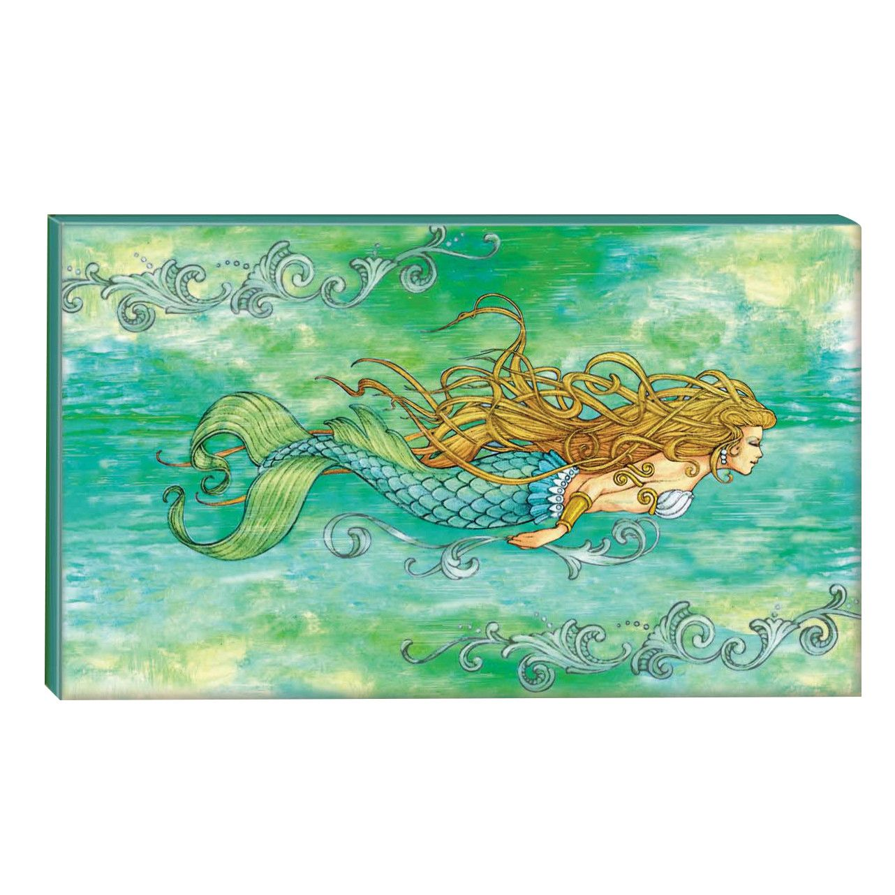Good Beachcrest Home Siren Of The Sea Mermaid Graphic Art On Wrapped Canvas