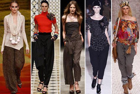 Wish Machine: Como usar calça saruel feminina !