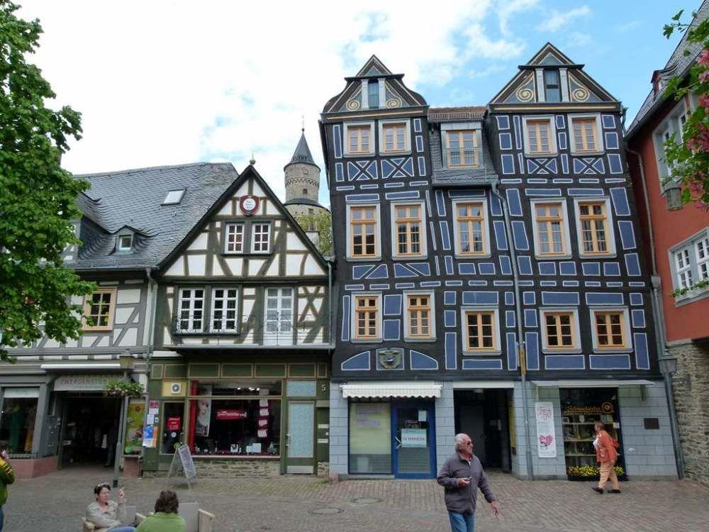 Vorbereitungen für den Aquarellkurs in Idstein im Taunus