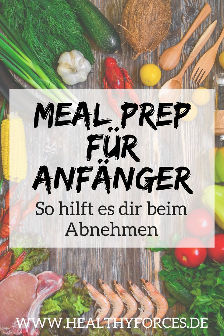 Meal Prep Plan zum Abnehmen: 5 einfache Tipps für Anfänger #mealprepplans
