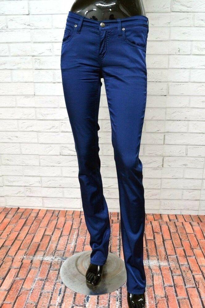 pick up 0d12f b0055 Pantalone FAY Donna Taglia Size 25 Jeans Slim Woman Pants ...