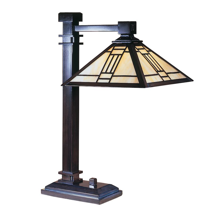 Asian Table Lamp Noir Mission Table Lamp From Dale Tiffany Tt100016 Mission