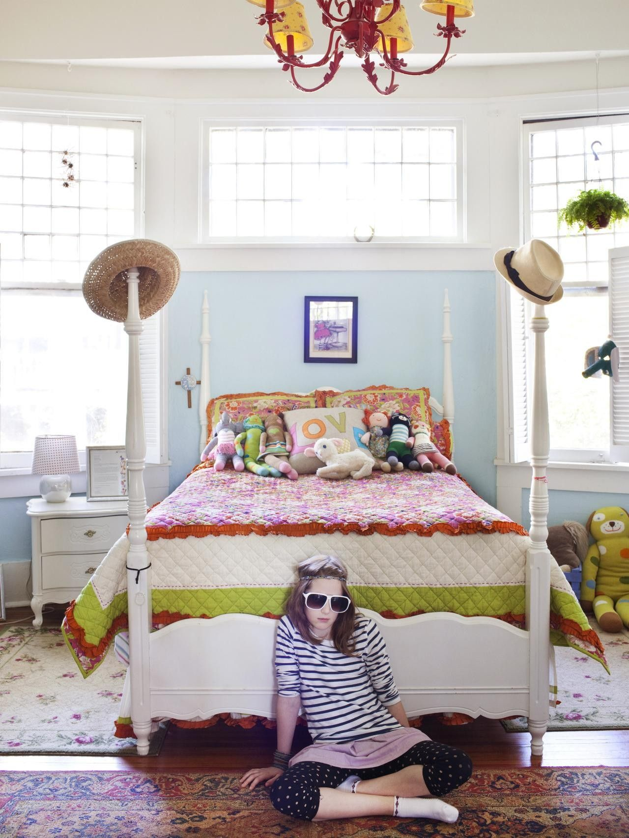Spannende Girly Schlafzimmer Mit Schlafzimmer Sachen Für ...