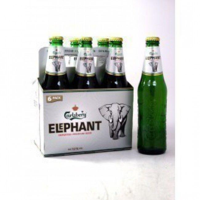 Carlsberg Elephant Malt Liquor Bottles Sor