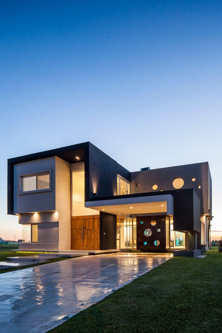 Arquitectura Casas Escaleras Exteriores Arquitectura: Arquitectura, Estilo En El Hogar Y Fachada De Casa