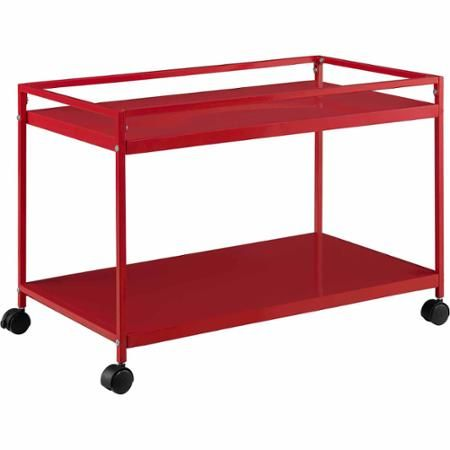 Altra Furniture Marshall Rolling Coffee Table Cart Multiple Colors  sc 1 st  Pinterest & Altra Furniture Marshall Rolling Coffee Table Cart Multiple Colors ...