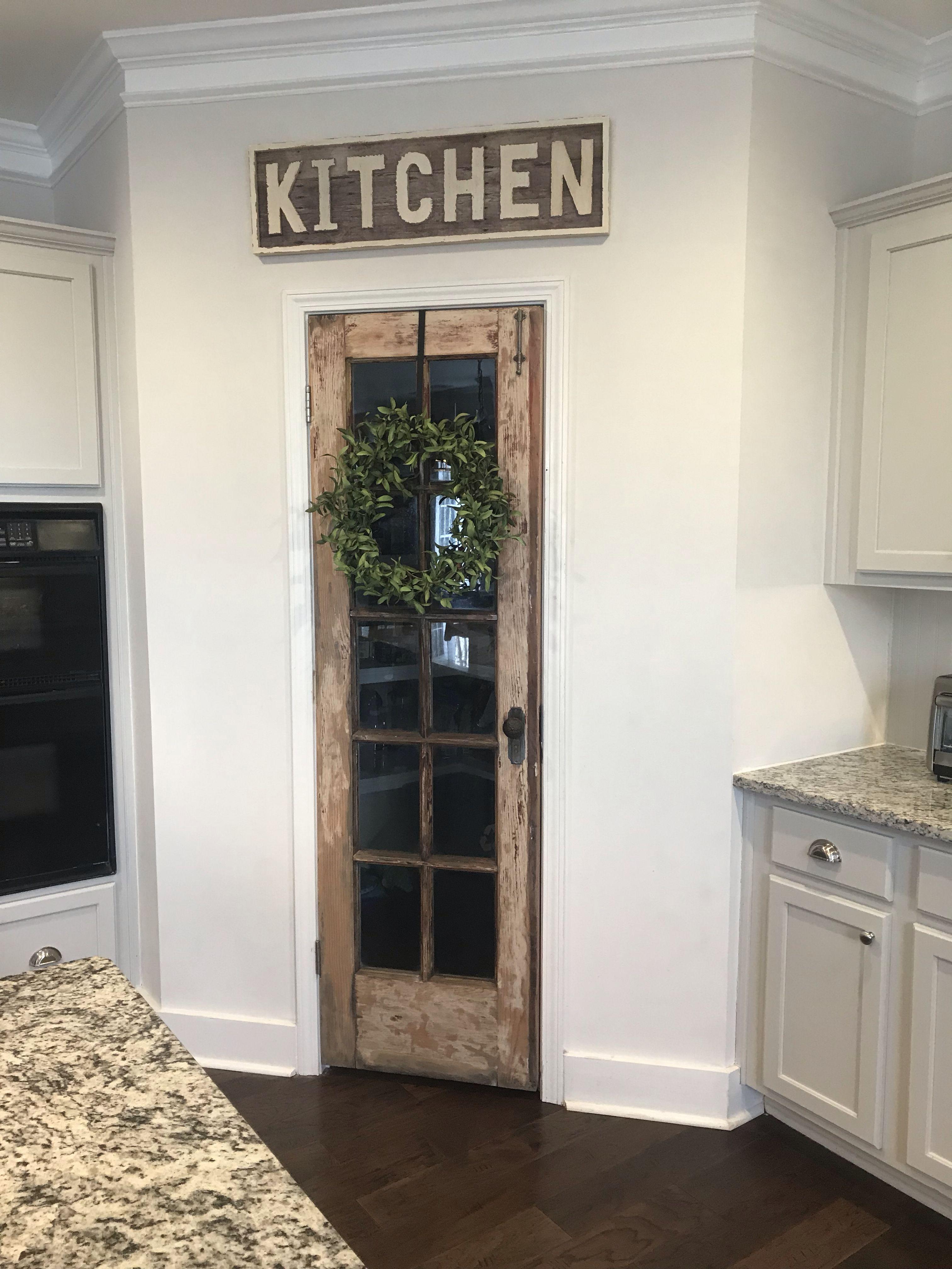 DIY Pantry Door Kitchen pantry doors, Pantry design