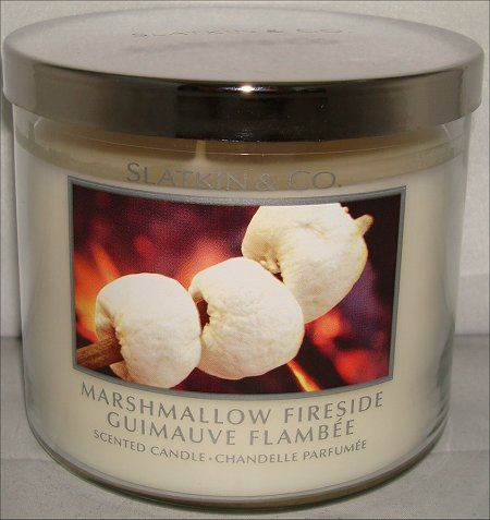 slatkin candles | Slatkin & Co. Marshmallow Fireside Candle Review & Pictures | Swatch ...