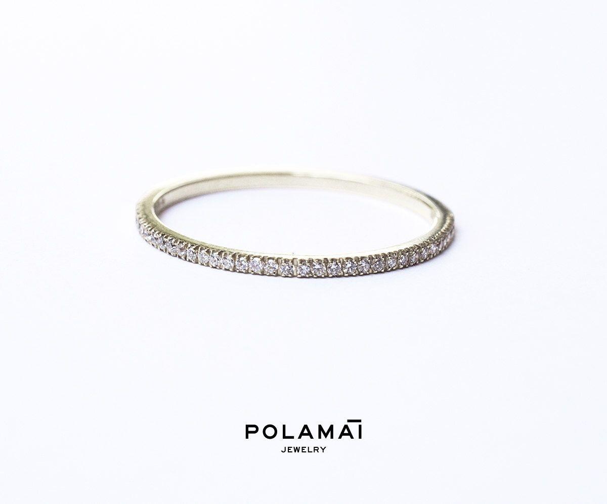 Ring White Gold Diamond Eternity