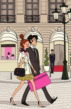 A little shopping in Paris, s'il vous plait.