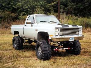 83 chevy 4x4 pickup