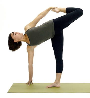 work your core with standing balance yoga poses  yoga for