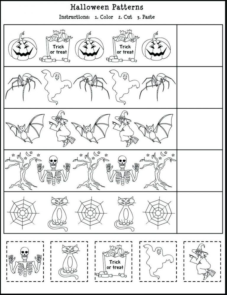 Free Halloween Rhyming Worksheet Pictures Misc Free
