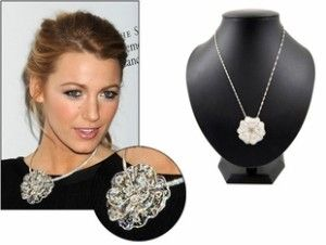 Celebrity Style Jewelry Blake Livelys Necklace Celebrity
