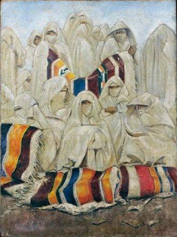 Bernard Boutet De Monvel 1881 1949 Le March Aux Tapis Peintures Orientalistes Pinterest