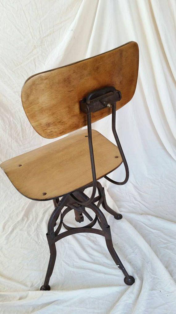 Merveilleux Industrial Toledo Drafting Chair Toledo Furniture Company
