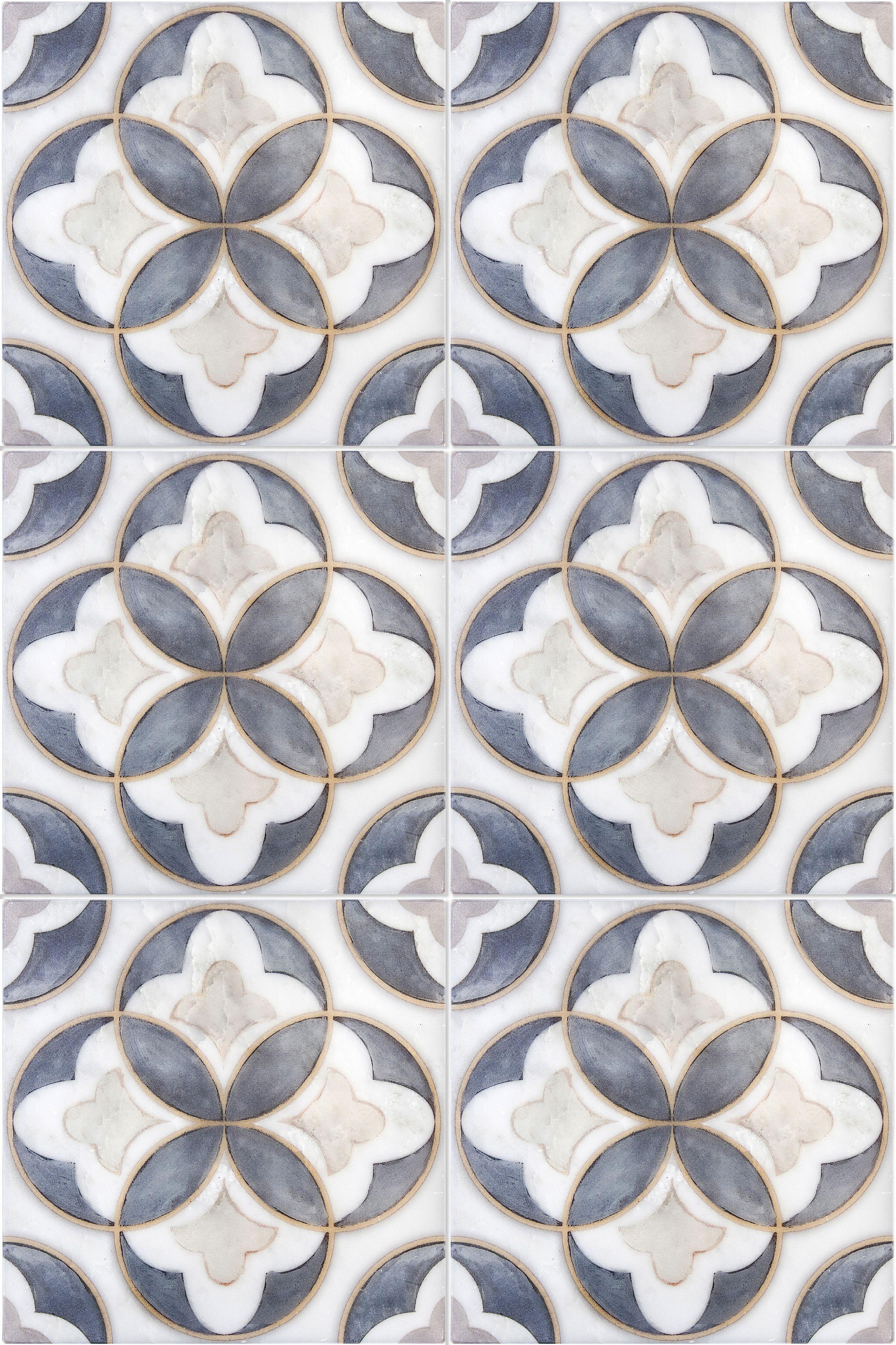 Mulholland Tile Pattern Tiles From Artisan Stone Tile By Stoneimpressions Artisan Stone Tile Tile Patterns Tiles