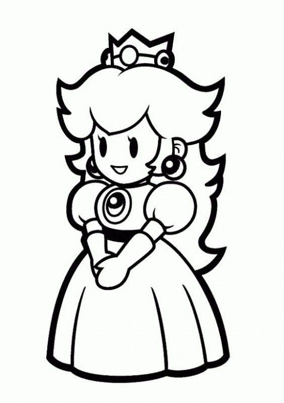 princess peach | silouette Cameo | Pinterest | De mario, Mario y Cosas