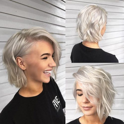 30 So Cute Easy Hairstyles For Short Hair Lovehairstyles Com Short Hair Styles Easy Blonde Bob Hairstyles Thick Hair Styles
