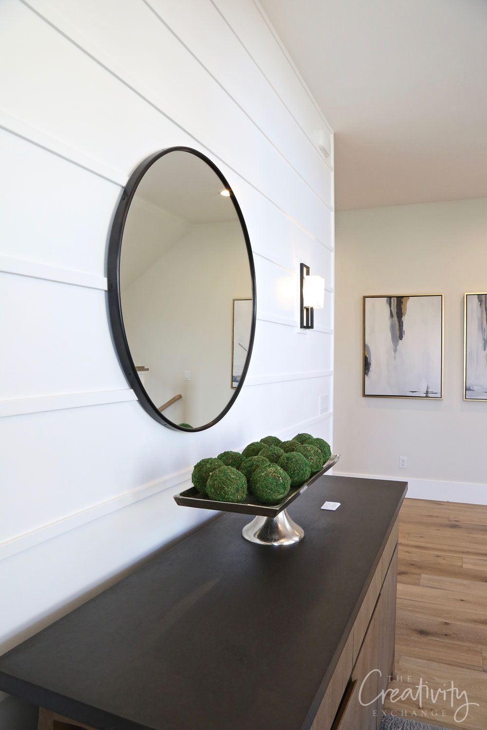 Millhaven Homes: Parade Home Tour #accentwall