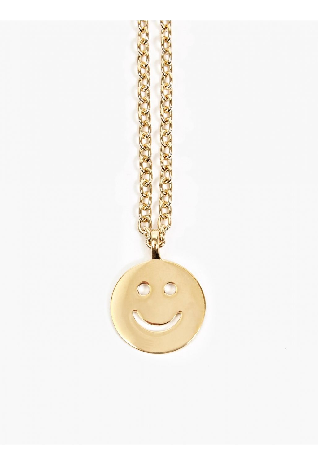 Apc gold smiley face pendant necklace fashion pinterest apc gold smiley face pendant necklace aloadofball Image collections