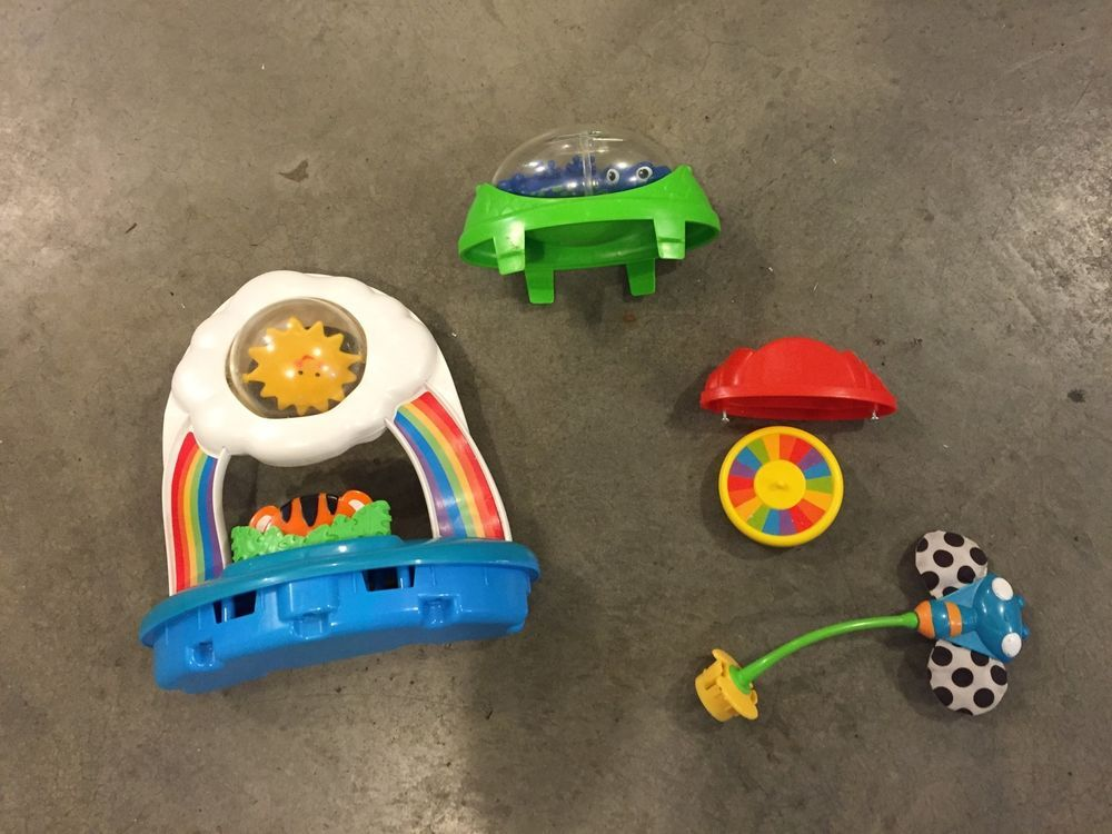 Fisher Price Rainforest Jumperoo Replacement Parts Lot Of 4 Toys ...