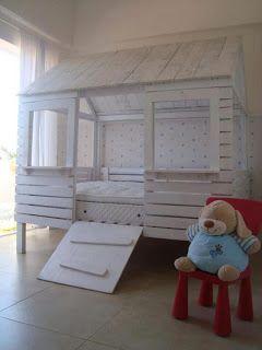 Pallet Bett Haus Fur Ihre Kinder Kreationen Selber Machen
