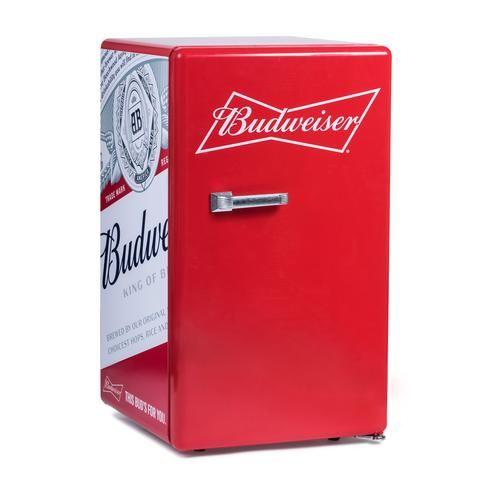 Budweiser Bud Retro Fridge Budweiser Retro Fridge