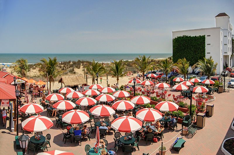 Coconuts ocean city md oceanfront hotel castle in the