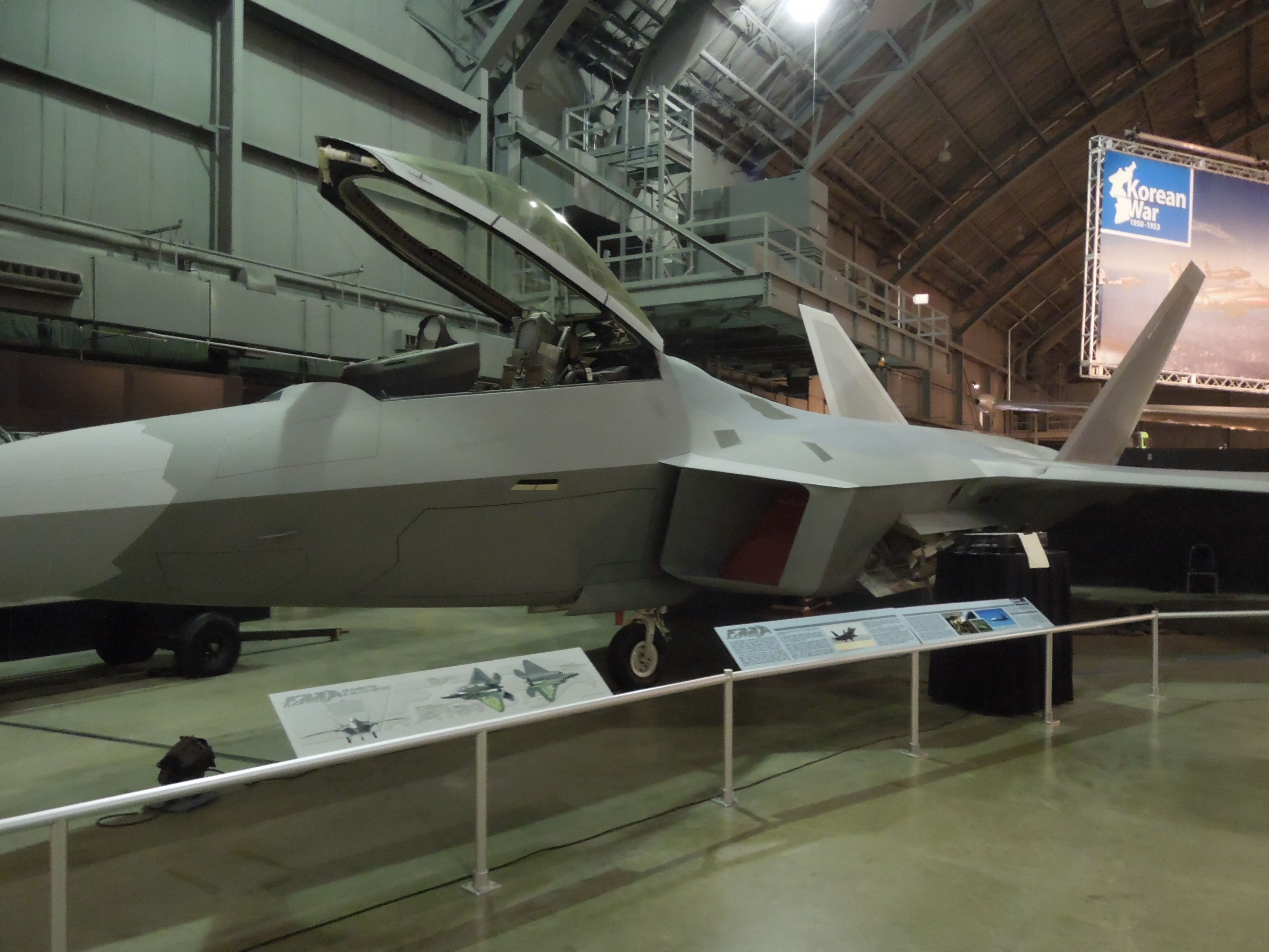 Stealth Aircraft / United States Air Force Museum / Wright