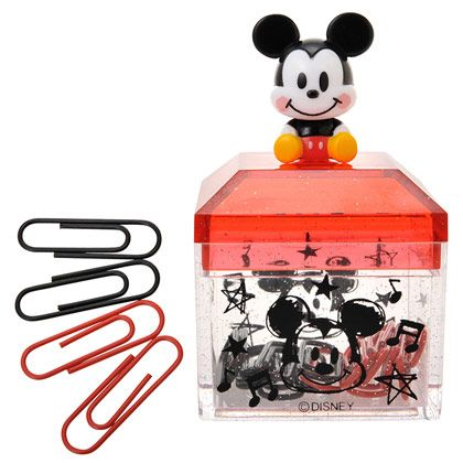 Mickey Mouse Paperclip Holder