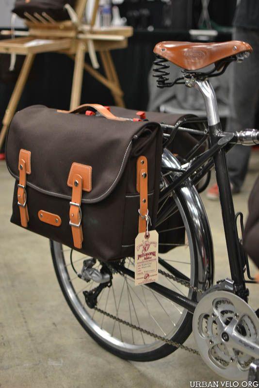 Philosophy Bags At Nahbs Bicycle Panniers Urban Bike Bike Accessories