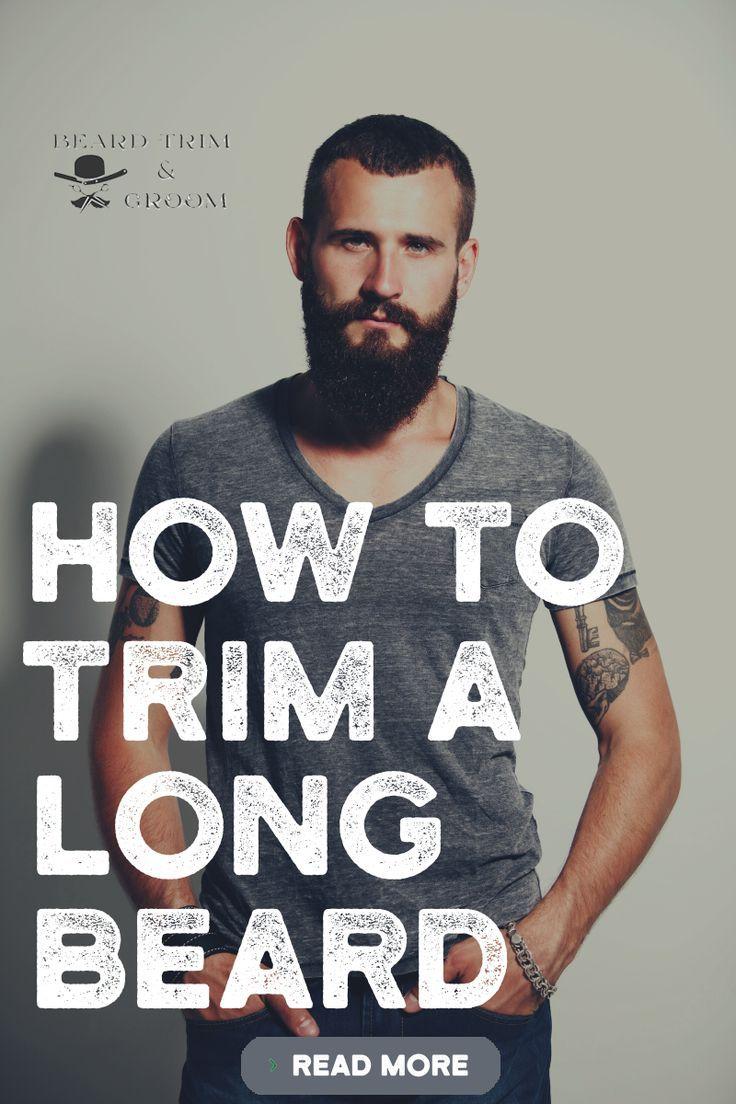 Photo of How To Trim A Long Beard