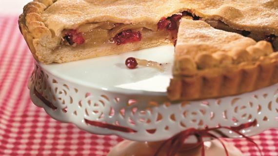 Пирог с грушами и клюквой. Пошаговый рецепт с фото на Gastronom.ru
