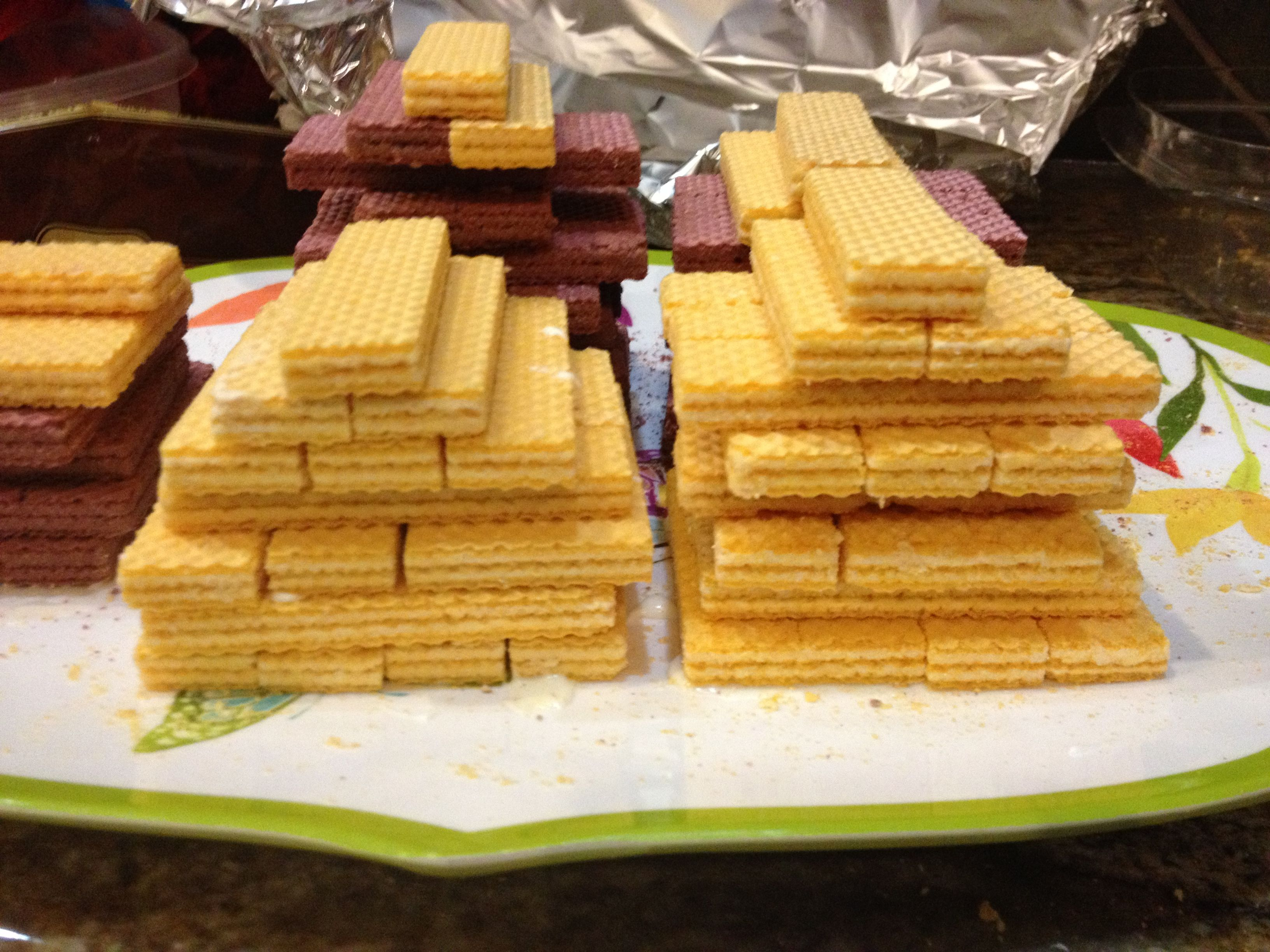 Pyramid Cookie Snack For Egyptian Day At School