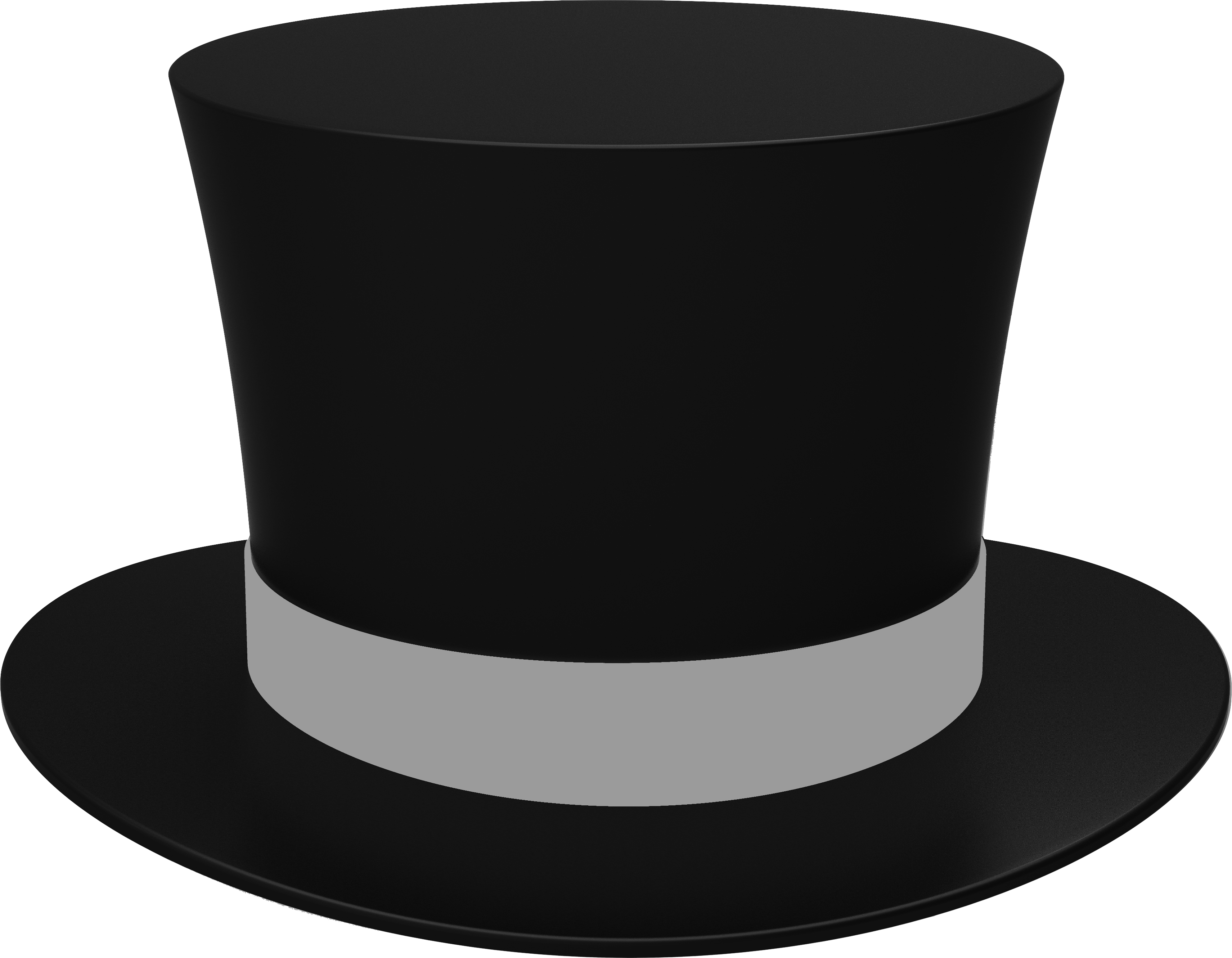 Black Cylinder Hat New Years Hat Hats Png
