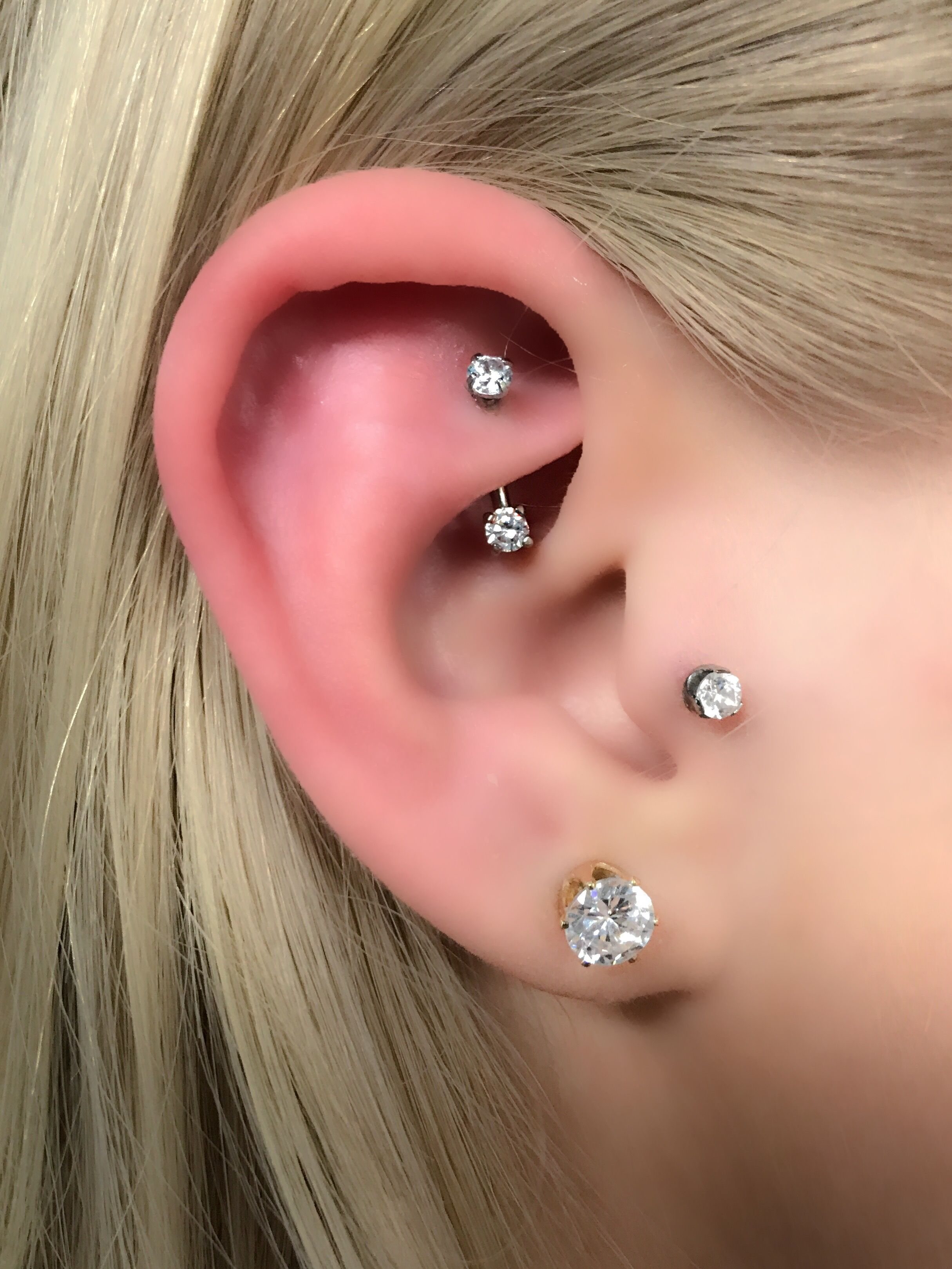 Names for cartilage piercing  Pin by Jessica Winkler on Jewelry  Pinterest  Piercings Piercing