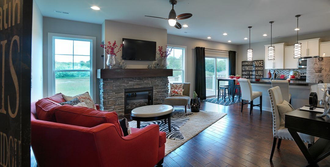 Energy Smart Homes Community Developer Evansville In Louisville Ky With Images Home Living Room Remodel New Homes
