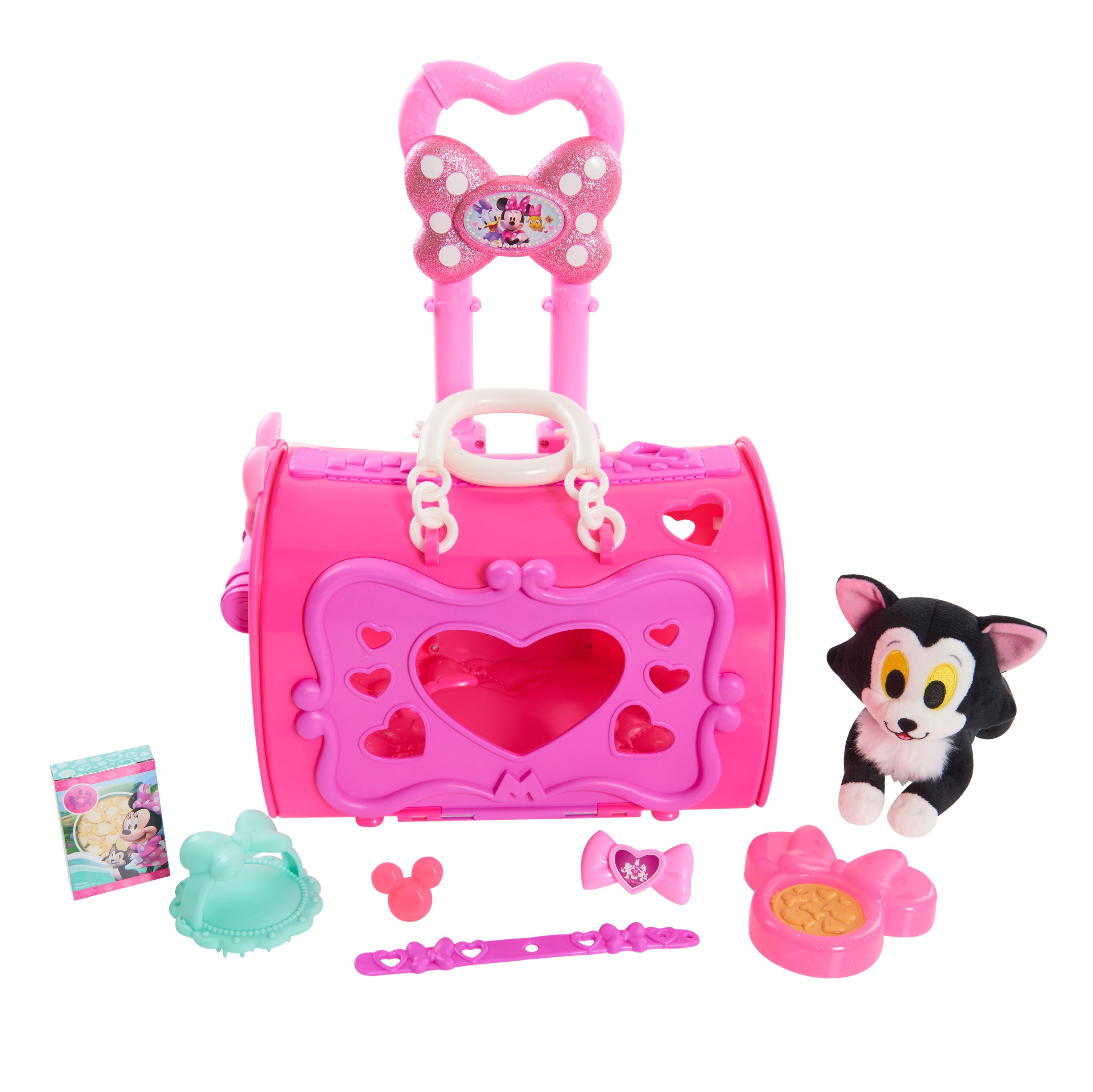 Disney Minnie Happy Helpers Pet Carrier Princess Toys Toddler