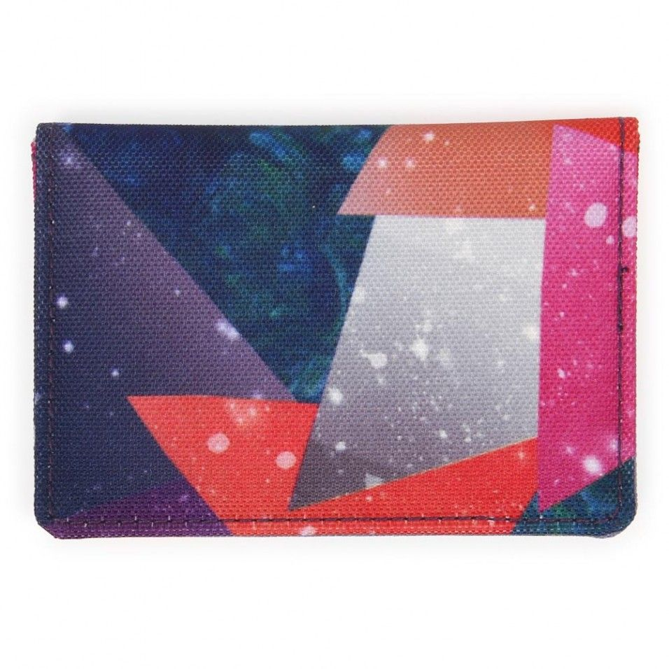 Galaxy collage pass case - Paperchase